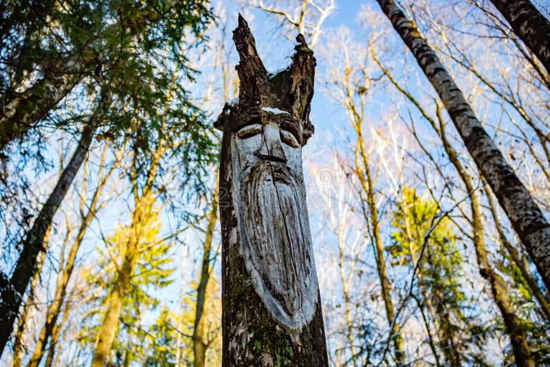 kaluga-region-russia-november-slavic-pagan-idols-forest-temple-slavic-pagan-idols-forest-temple-veles-123673966