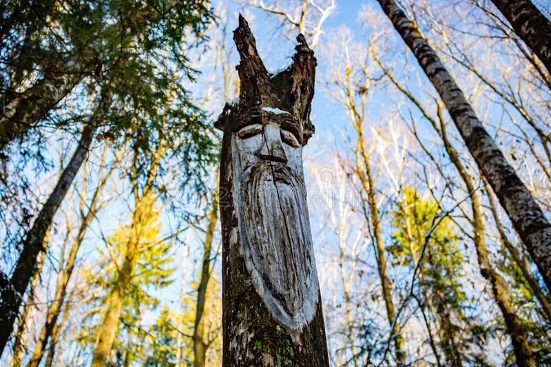 kaluga-region-russia-november-slavic-pagan-idols-forest-temple-slavic-pagan-idols-forest-temple-veles-123673966